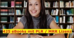 425 eBook Paket - 107 PLR und 218 MRR eBooks